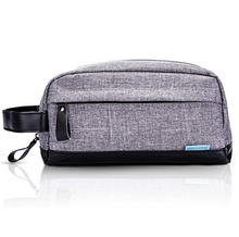 Men Portable Waterproof Toiletry Organizer Bag Travel Cosmetic Shaving Dopp Kit