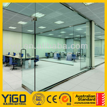 door glass / interior tempered glass doors