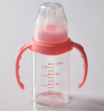 Borosilicate Glass Baby feeding Bottlem baby milk,water bottle manufacturers