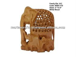 carved wooden-decor/decorations made of wood/carved wood wall decor