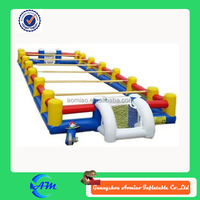 giant inflatable human foosball field inflatable football field inflatable human foosball court