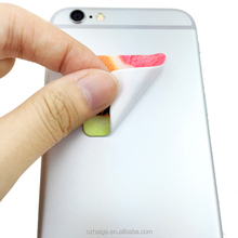 Microfiber sticky phone/computer screen cleaner