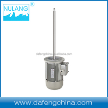 long shaft three phase motor