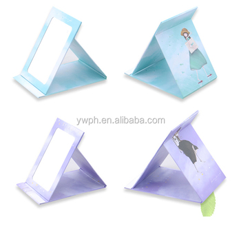 9x15cm fold style colorful printing paper mirror