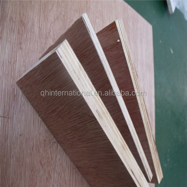 Birch/Okoume/Bintangor/Keruing Plywood furniture grade