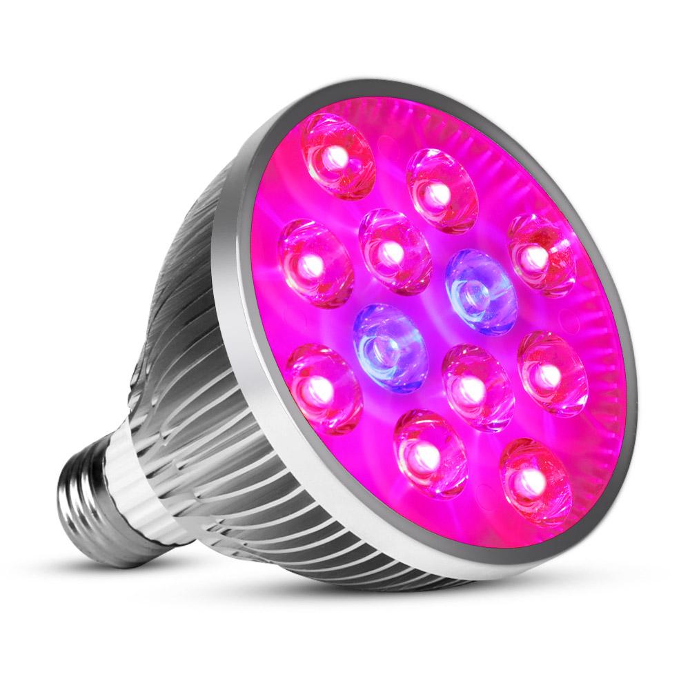 E27 plant grow led Indoor or Desktop Plants LED Grow Light Flexible Lamp LED Plant Growth Light 21W 54W AC85-265V Free shipping