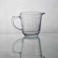 620ML Glass Pitcher / Jug, drinking water glass, wholesale glass pitcher for beer water juice