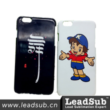 Leadsub 3D sublimation moblie phone case for iphone6/6S