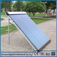 High density solar vacuum tubes glass mini portable heater Solar Keymark Approved Pressure Evacuated Tube Collectors