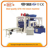 Brick Production Line, Latest Processing, Cement and Sand as Raw Material Cement Block Making Machine
