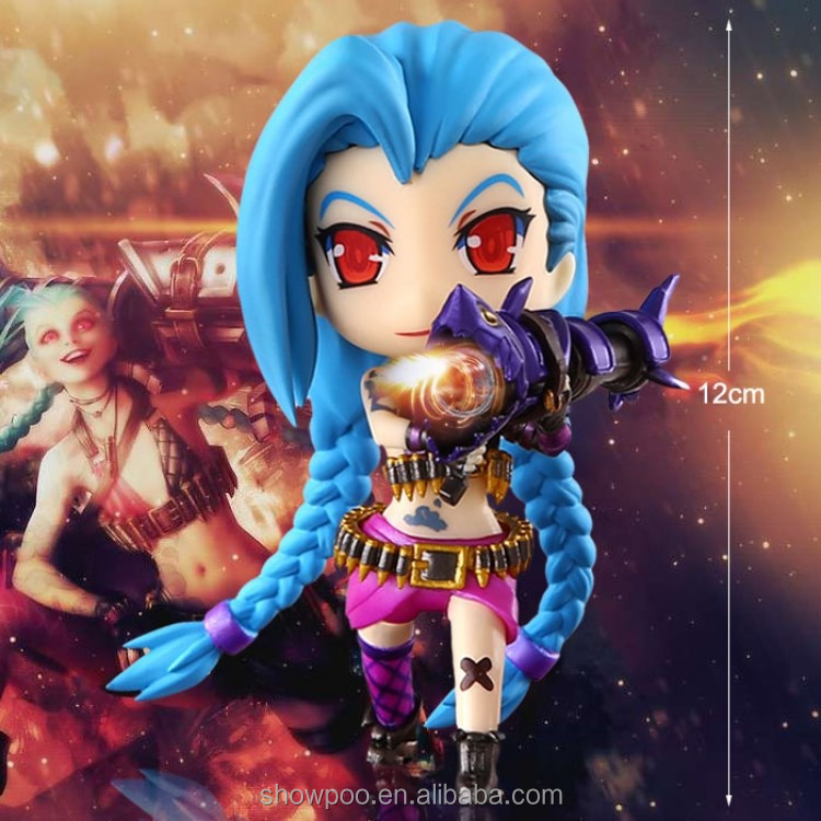 Factory Direct League of Legends Jinx Q Figure collectibles
