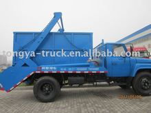 Best selling Flat swing arm type small garbage truck