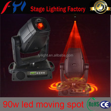 stage spot lights 90w gobo led moving light projector