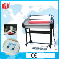 New electric and pneumatic cold laminating machine rubber roller