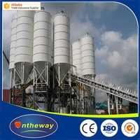 Newest OEM dry mortar concrete mixing plants HZS120