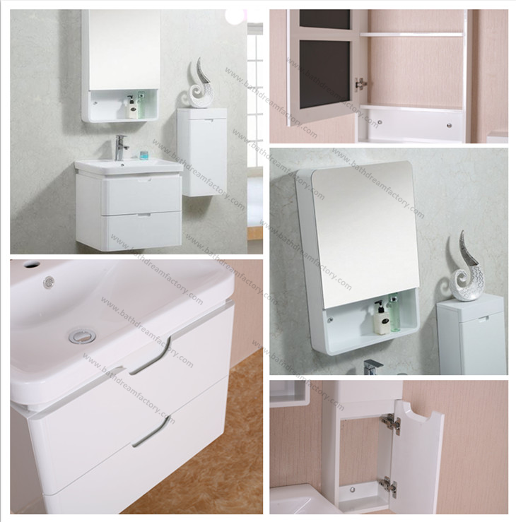 Hanging bathroom cabinets