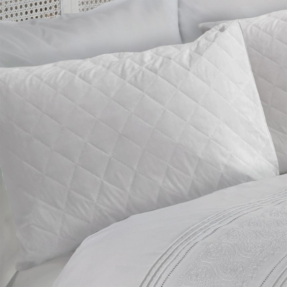Polyester filled quilted Mattress Pad/quilted mattress protector - Jozy Mattress | Jozy.net