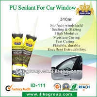 Polyurethane sealant for auto window sealing (REACH,SGS certificate)