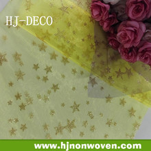 organza wholesale fabric for wedding party, christmas banquet decoration