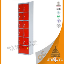 Coin operated electronic device mobile phone charging machine/metal cell phone charging locker/station