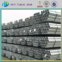greenhouse framework used galvanised erw tube for sale / steel pipe weights