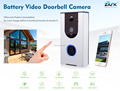 Shenzhen factory supply wireless video door phone intercom wifi door bell rechargable battery