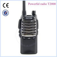 walkie-talkie ZASTONE T2000 UHF 400-480MHz 8W powerful walkie talkie