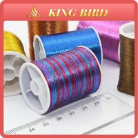 china copper color metallic embroidery yarn