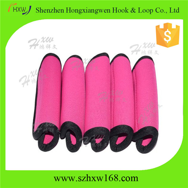 pink Suitcase Luggage Handle Wrap customized ODM
