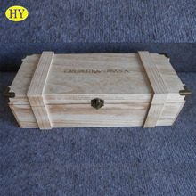Single Bottle Antique Wholesale Wooden Wine Boxes Carriers