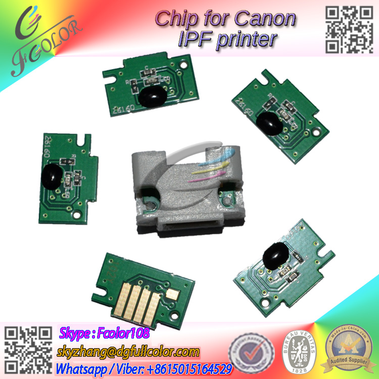 Compatible PFI-107 <strong>Chip</strong> for Canon IPF670 IPF680 IPF685 IPF770 IPF785 Printer Replace <strong>chip</strong>