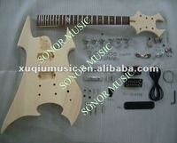 Hot Sale Unfinished Electric Guitar Kits,Guitar