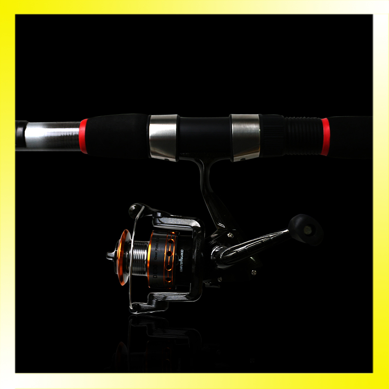 Fishing Rod Glass Fiber Light Telescopic Spinning Fishing Pole