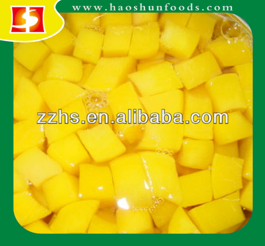 Canned Yellow Peach in Syrup (BRC,HACCP,ISO,IFS,KOSHER,FDA)