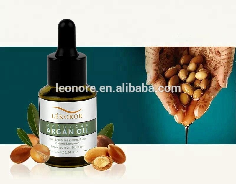 Private label argan oil morocco hair treatment factory price