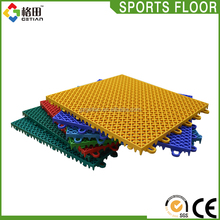 outdoor interlocking plastic floor tiles plastic outdoor basketball court floor