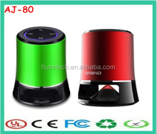 2014 best sale AJ-80 portable wireless cellphone mini bluetooth speaker