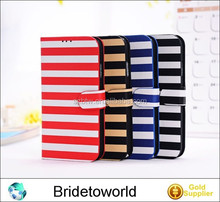 New zebra PU Wallet Leather Case For Samsung Galaxy S5 S V i9600