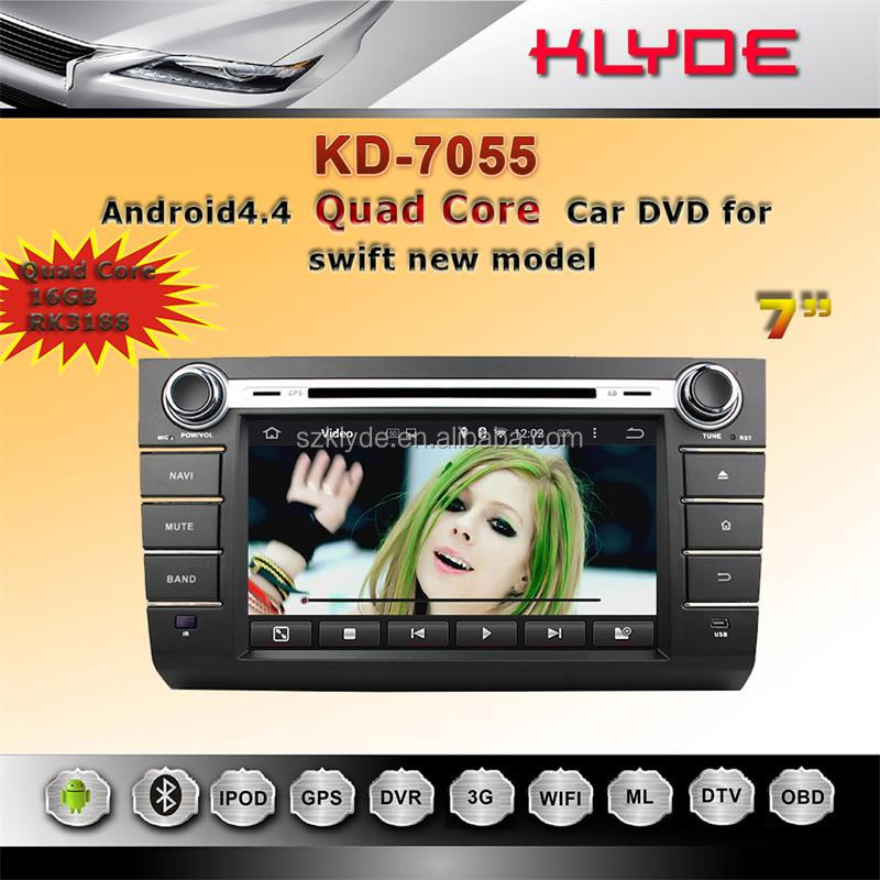 android touch screen car audio system for suzuki swift