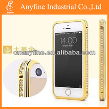 gold diamond bumper case for iphone 4&4S