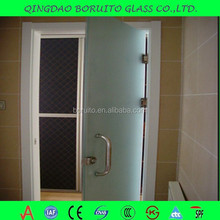 1-19mm tempered frosted glass price