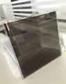 factory price 30% transparency 3W amorphous silicon transparent solar panel thin film solar panel