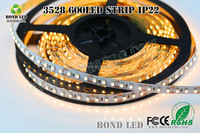 HOT-Selling Item 3528 led strip Yellow color 120led/m led ring light