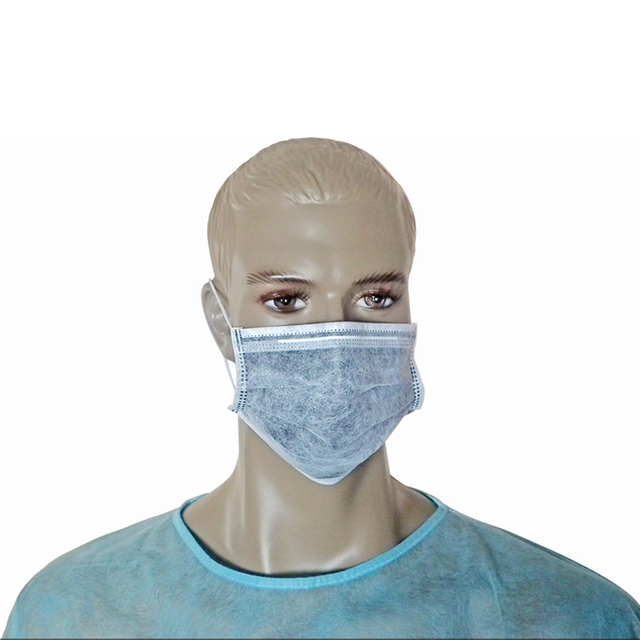 Disposable Heat Protection Aseptic Dust Allergy Cozy Face Mask For Food Service