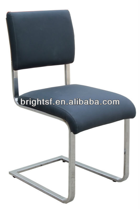 Dining Chair with Chrome Steel Tube leg B14