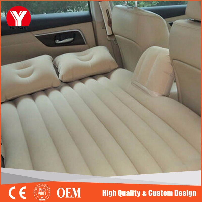 Hot sale portable travel inflatable car air bed