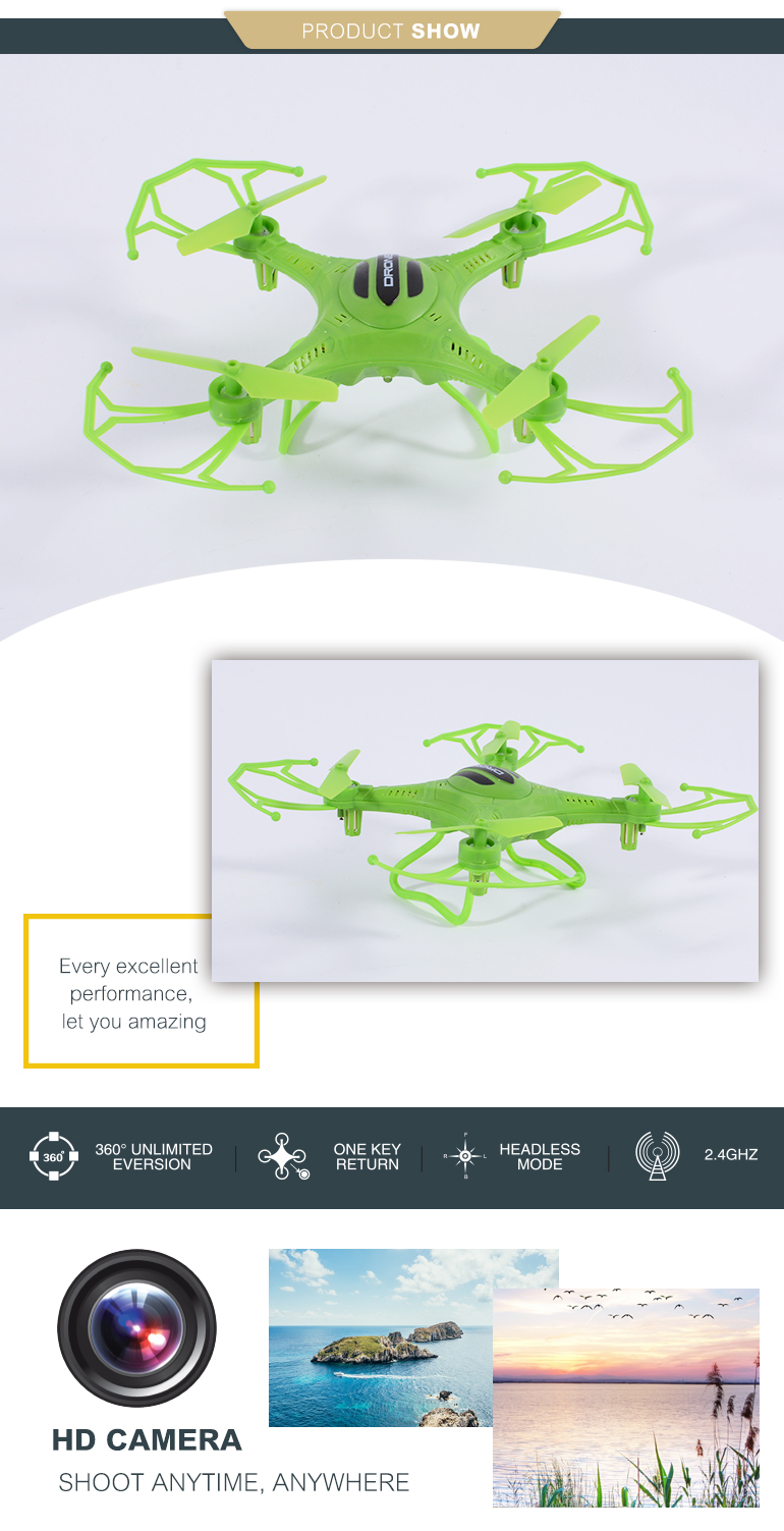 outdoor game 2.4G mini quadcopter 3d rolling novelty toy for selling
