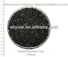 5-10mm High FC Low S Calcined Petroleum Coke