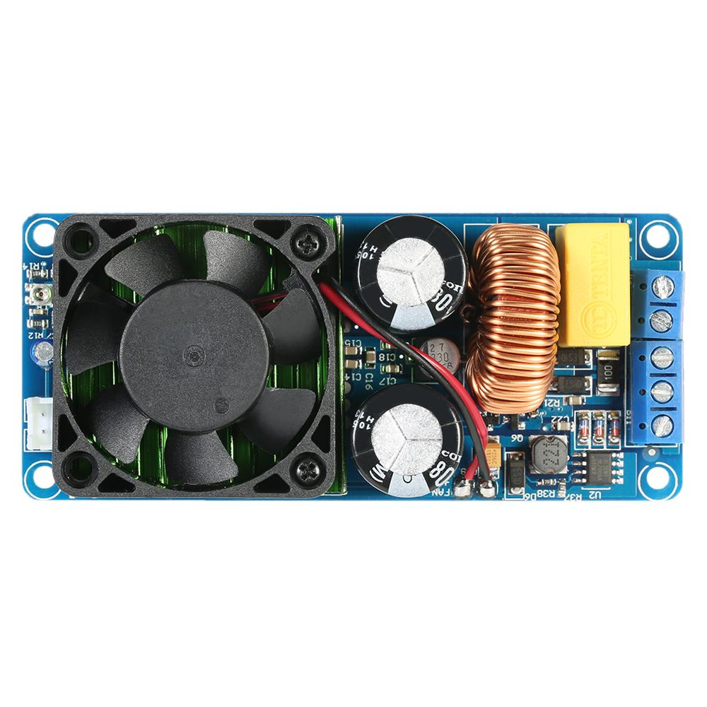 IRS2092S Mono-Channel Digital Audio Amplifier Class <strong>D</strong> HIFI High Power Amp Board 500W