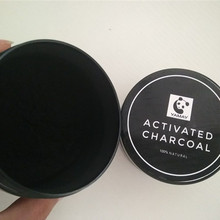 Daily use teeth brighten powder coconut shell activated charcoal whitening
